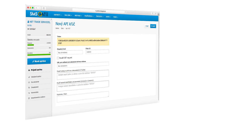 SMS gate - SMS API